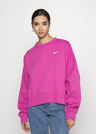 Nowa bluza Nike oversize różowa