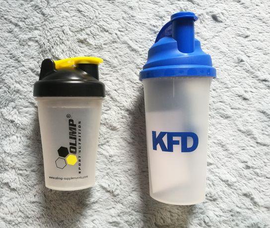 2 shakery shaker szejker do odżywek koktajli proteinowych KFD Olimp