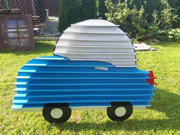 Regał półka na rysoraki/ samochody, auta i małe figurki.
