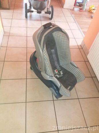 Fotelik samochodowy z funkcją nosidełka oraz kołyski dla MALEŃSTWA