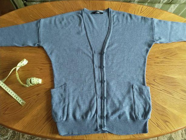 Kardigan George, sweter zapinany