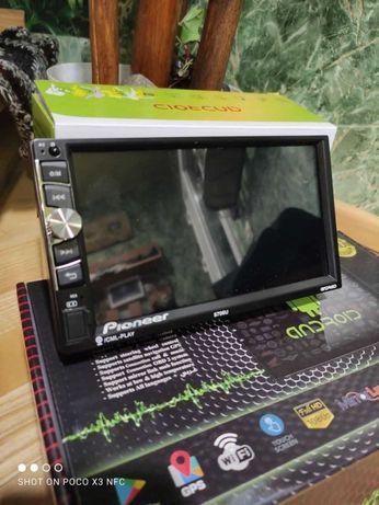 НОВАЯ авто МАГНИТОЛА 2 DIN IPTV, WIFI, Gps 4 ядра 8706 Pioneer 7дюйм