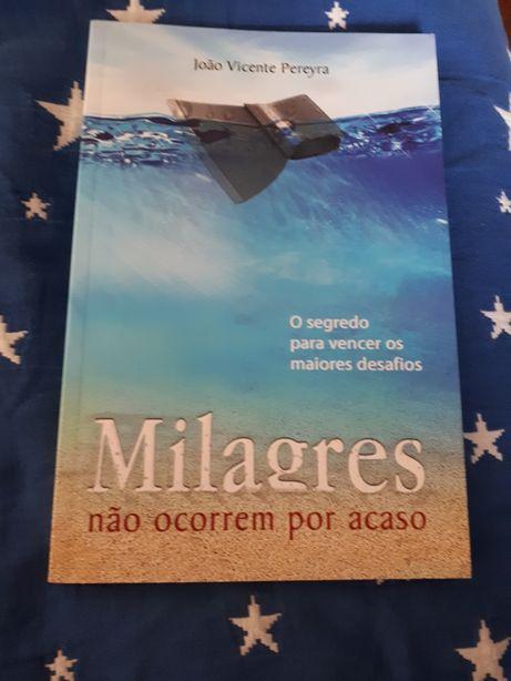 Livro milagres não ocorrem por acaso