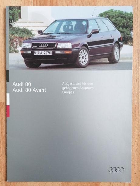 Prospekt Audi 80 B4 Sedan Avant