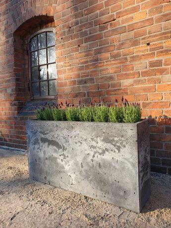 donica beton architektoniczny, gazon, 114x60x30, Promocja !
