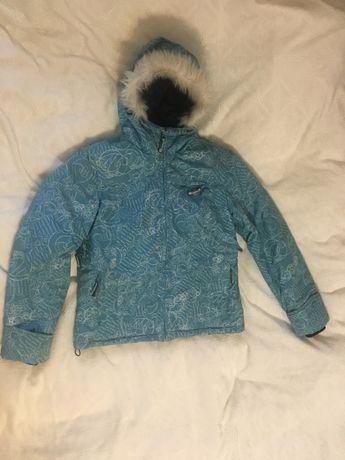 Горнолыжная женская куртка S-M