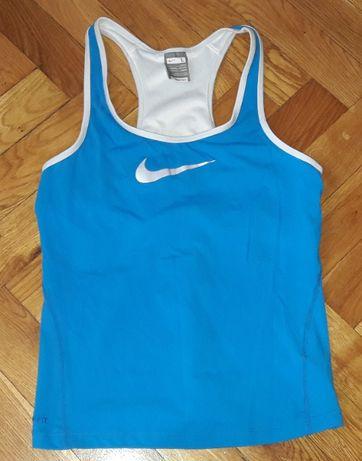 Niebieska bokserka Nike L z biustonoszem