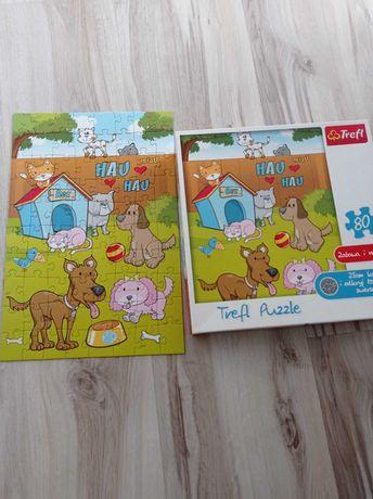 Trefl puzzle 4+ zwierzęta