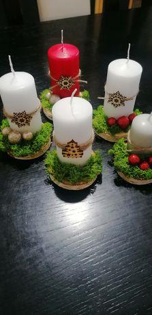 Świeczki świąteczne