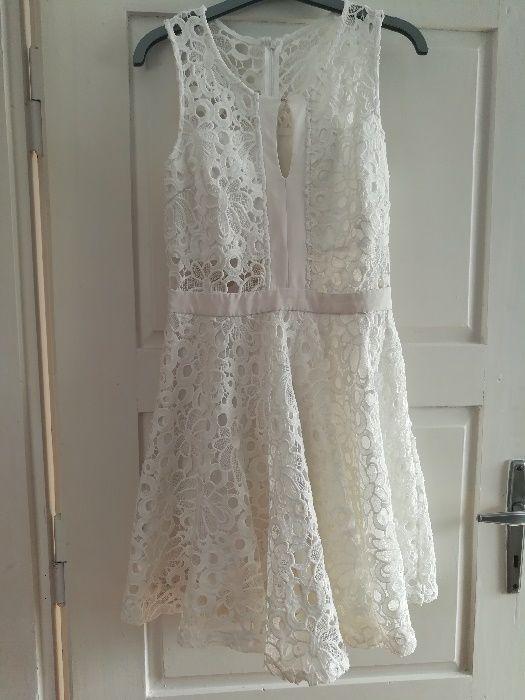 koronkowa biała sukienka Gać - image 1