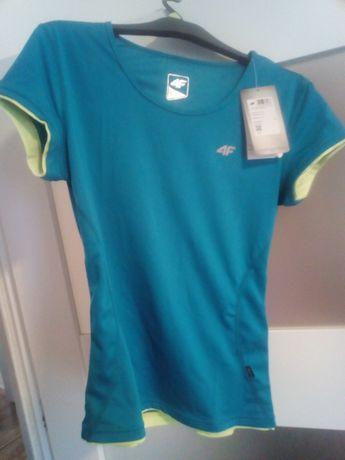 Nowa Koszulka damska 4F rozmiar s