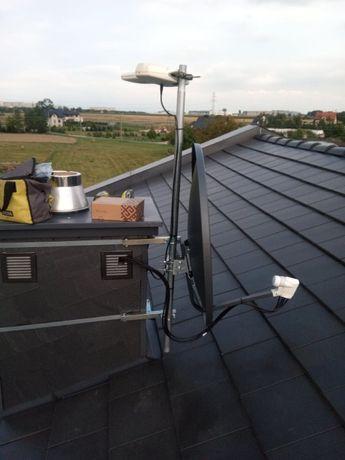 Ustawianie montaż instalacje anten satelitarnych / DVB-T NC+ Polsat