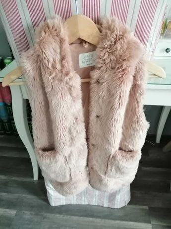 Zara, super kamizelka roz. 140