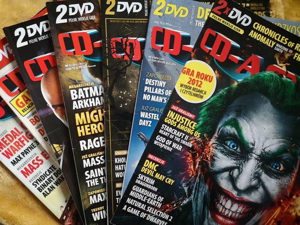 Czasopismo magazyn CD Action 7 sztuk