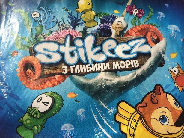 Продам игрушки Stikeez из глубины морей Сильпо.