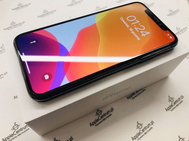 PROMOCJA • iPhone X 64GB Space Grey • GWARANCJA 1 MSC • AppleCentrum