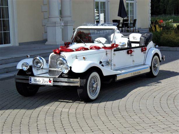 Prezent na ślub Zabytkowy Kabriolet Nestor Baron RETRO auta na wesele
