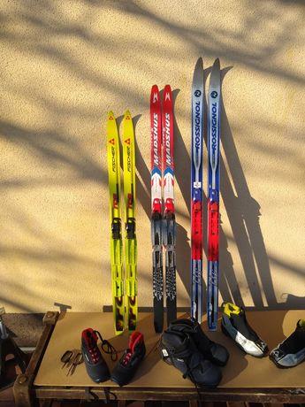 Komplet nart biegowych dla dzieci od 100 cm