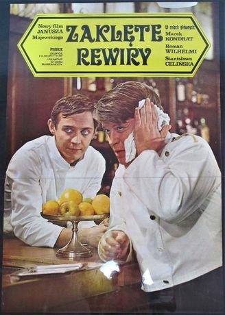 Plakat filmowy Zaklęte rewiry