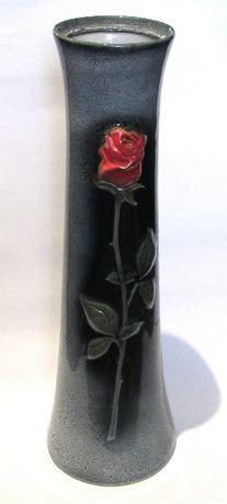 Керамічна напольна ваза «Роза».