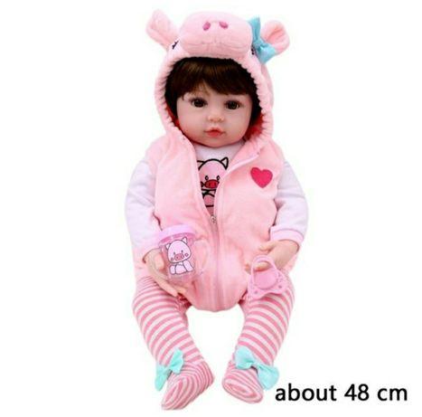 Реалистичная кукла Реборн 48 см