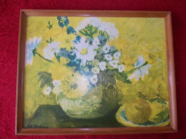 Obraz Kwiaty o wymiarach 41,5 x 52,5 cm