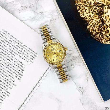 Zegarek Rolex Date Just 067 New Silver-Gold-Gold