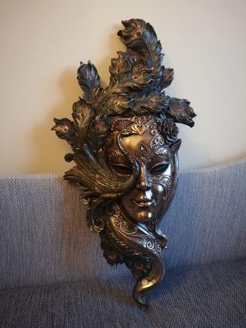 duża maska wenecka paw veronese