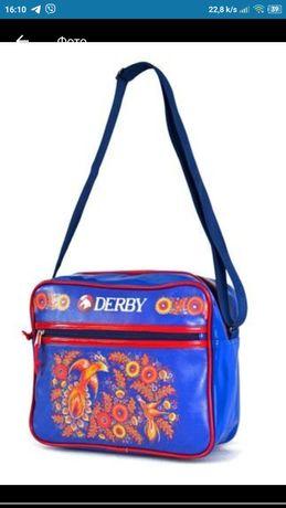 Сумка, чемодан, портфель, клач, сумочка (почтальенка) Derby
