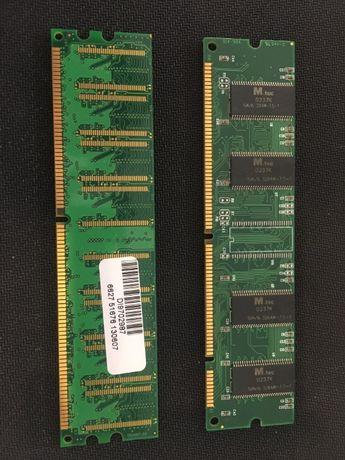 Ram 512Mb Ddr1 400Mhz + Ram Pc133 256Mb Ddr1 (sdr/cl3)