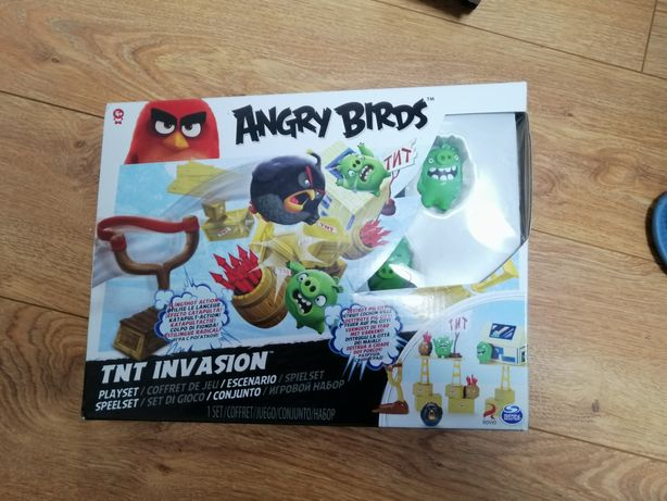 Gra angry birds tnt invasion