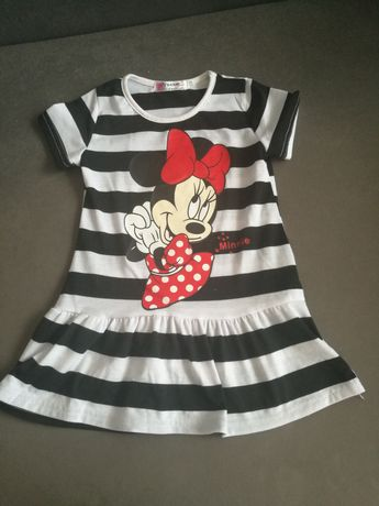 Sukienka Myszka Minnie rozmiar 98