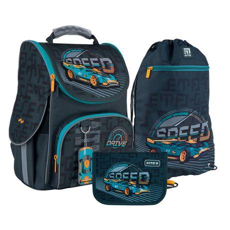 Набір set_k21-501s-1рюкзак + пенал + сумка для взуття Kite 501 Speed