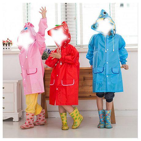 Capa de chuva Impermeável Criança
