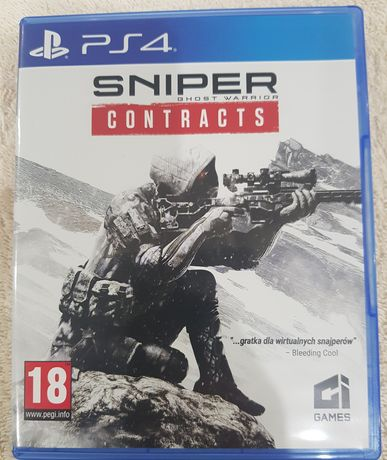 Sniper ghost warrior contracts PS4 / PS5