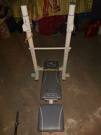 Domowa siłownia sprzęt  ławeczka