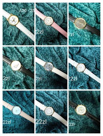 Zegarek zegarki damskie biały czarny pudrowy beżowy