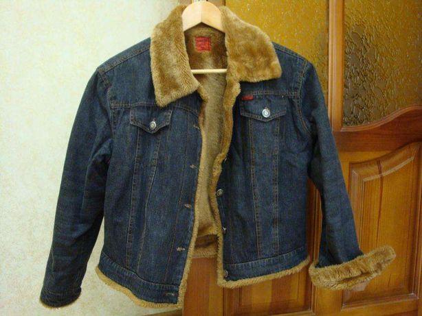 Женская джинсовая курточка