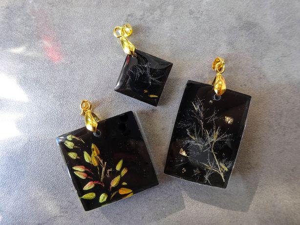 Wisiorki przywieszki biżuteria artystyczna handmade