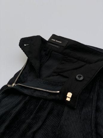 Isabel Marant spodnie sztruksowe M