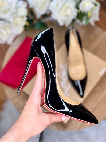 Туфли - лодочки черные 10 и 12 см So Kate обувь Лабутены Louboutin