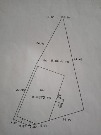Земельна ділянка пл.0.878га.+Магазин 322м.кв.