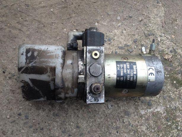 Agregat hydrauliki - pompa + silnik+ zbiornik 24V