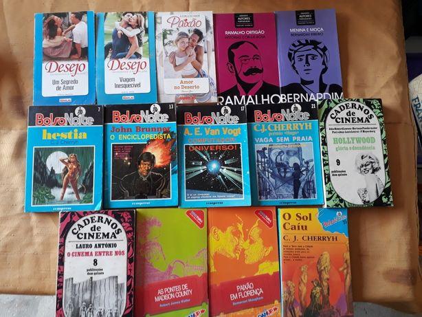 Livros de Bolso Diversos