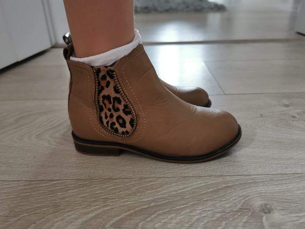 Buty jesienne wiosenne dziewczęce BADOXX rozm. 27 dł. Wkładki 18 cm