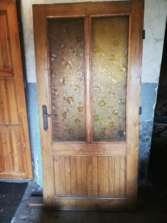 Sprzedam drzwi dębowe