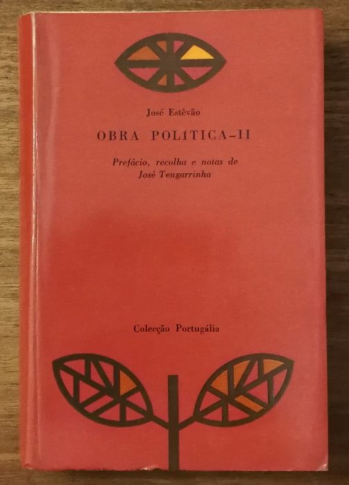 obra politica ii, josé estevão, josé tengarrinha , colecção portugália Estrela - imagem 1