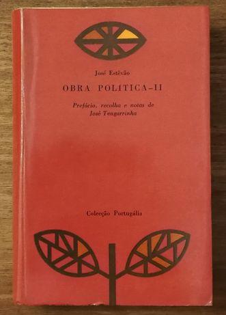 obra politica ii, josé estevão, josé tengarrinha , colecção portugália