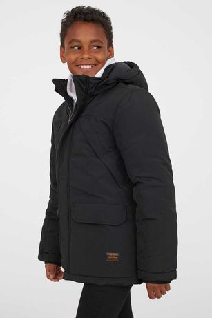 Куртка - парка H&M- еврозима , холодная осень -134 р -164 р.