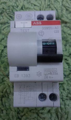 Б/У Диф.автомат АВВ DS 951 В25 С25 В16 С16